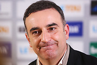 Swansea City manager Carlos Carvalhal during a post match pre conference after the Premier League match between Swansea City and Tottenham Hotspur at the Liberty Stadium, Swansea, Wales, UK. Tuesday 02 January 2018