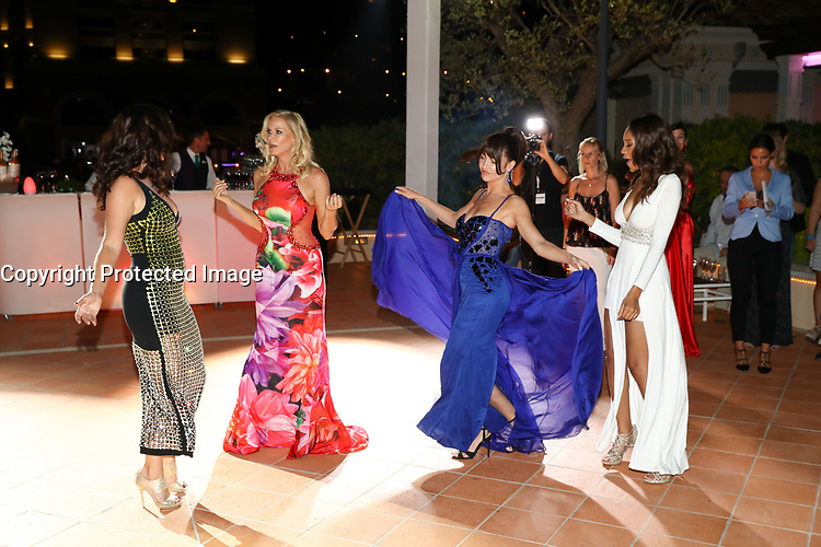 Monte-Carlo, Monaco, 18/06/2017 - 57th Monte-Carlo Television Festival.<br /> 30th Anniversary of 'The Bold and the Beautiful' party during the Monte-Carlo Television Festival, at the Monte-Carlo Bay hotel with Reign Edwards, Katherine Kelly Lang, Jacqueline Mac Innes Wood, Heather Tom # 30EME ANNIVERSAIRE DE 'AMOUR, GLOIRE ET BEAUTE'