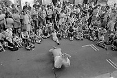 Carol Street Carnival 1982, put on by residents in a row of squatted houses in Camden Town, London, which was later granted short-life status and subsequently became a council-supported housing co-operative.