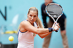 Dominika Cibulkova, Slovakia, during Madrid Open Tennis 2016 match.May, 5, 2016.(ALTERPHOTOS/Acero)