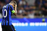 Dejection of Alejandro Gomez of Atalanta<br /> Milano 01-10-2019 Stadio Giuseppe Meazza <br /> Football Champions League 2019//2020 <br /> Group Stage Group C <br /> Atalanta - Shakhtar Donetsk  <br /> Photo Image Sport / Insidefoto