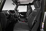Front seat view of 2016 JEEP Wrangler-Unlimited Rubicon 5 Door SUV Front Seat  car photos