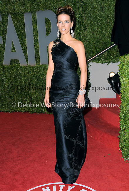 Kate Beckinsale at The 2009 Vanity Fair Oscar Party held at The Sunset Tower Hotel in West Hollywood, California on February 22,2009                                                                                      Copyright 2009 RockinExposures / NYDN
