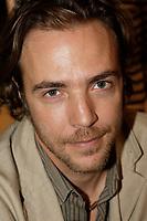 August 2008 File Photo - Guillaume Vignault<br />  - PHOTO D'ARCHIVE :  Agence Quebec Presse<br /> <br /> <br /> Guillaume Vigneault, le fils de Gilles Vigneault en 2008.<br /> <br />  - PHOTO D'ARCHIVE :  Agence Quebec Presse