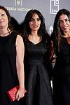 Maysun Abu-Khdeir attends to 'Morir para contar' film premiere during the Madrid Premiere Week at Callao City Lights cinema in Madrid, Spain. November 13, 2018. (ALTERPHOTOS/A. Perez Meca)