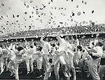 United States Naval Academy graduation, Naval Avademy, Annapolis Maryland, The Academy, The Bat School, Canoe U, United States Navy, October 10 1845, Neptune, Ex Scientia Tridens, Seapower, from knowledge seapower, Midshipman, Ensigns, Second Lieutnants,