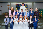 Tiernaboul NS pupils who received their First Holy Communion in the Church of the Ressurection Killarney on Saturday