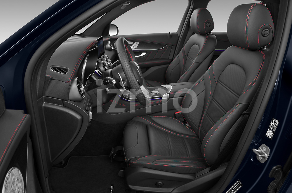 Front seat view of 2021 Mercedes Benz GLC AMG-43 5 Door SUV Front Seat  car photos