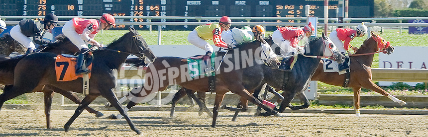 A Perfect Squeeze winning at Delaware Park on 10/25/11