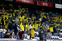 20th November 2020, Nashville, TN, USA;  Nashville SC fans cheer their team on during the MLS Cup Playoffs Eastern Conference Play-In game between Nashville SC and Inter Miami, November 20, 2020 at Nissan Stadium