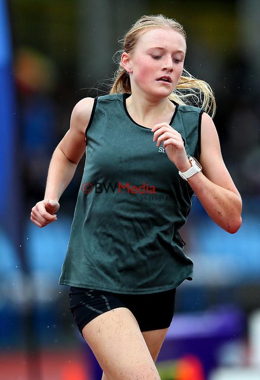 Isabella Richards, St Cuthberts, 3000m Senior Girls. Auckland Secondary Schools Athletic Championships, Mt Smart Stadium, Auckland, Tuesday 30 March 2021. Photo: Simon Watts/www.bwmedia.co.nz
