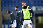 St Johnstone v Aberdeen…27.01.21   McDiarmid Park   SPFL<br />Shaun Rooney pictured during the pre-match warm up<br />Picture by Graeme Hart.<br />Copyright Perthshire Picture Agency<br />Tel: 01738 623350  Mobile: 07990 594431