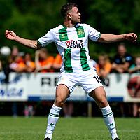 LEEK - Voetbal, Pelikaan S - FC Groningen , voorbereiding seizoen 2021-2022, oefenduel, 03-07-2021, FC Groningen speler Gabriel Gudmundsson
