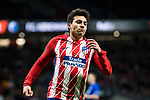 Nicolas Gaitan of Atletico de Madrid reacts during the UEFA Europa League 2017-18 Round of 32 (2nd leg) match between Atletico de Madrid and FC Copenhague at Wanda Metropolitano  on February 22 2018 in Madrid, Spain. Photo by Diego Souto / Power Sport Images