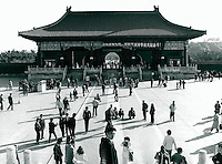 Tempel in Peking, China 1989