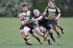NELSON, NEW ZEALAND - AUGUST 1: Rugby UC Championship, Waimea Combined v Rangiora HS, Waimea College, Nelson, 1st August, New Zealand. (Photos by Barry Whitnall/Shuttersport Limited)