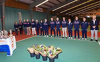 Wateringen, The Netherlands, December 8,  2019, De Rhijenhof , NOJK juniors 14 and18 years, umpires <br /> Photo: www.tennisimages.com/Henk Koster