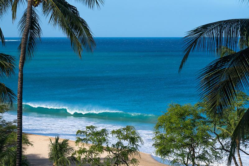 Waves off Hapuna beach . Hawaii Island