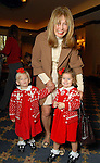 Pamela Baker with her granddaughters Saysay and Waters McConnell at the Houston Symphony League's annual Magical Musical Morning event at the Houstonian Saturday Dec. 12,2009.(Dave Rossman/For the Chronicle)