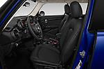Front seat view of 2019 MINI Hardtop-4-Door Cooper-Signature 5 Door Hatchback Front Seat  car photos