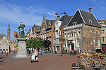 The Great Market Square (Grote Markt) in Haarlem, Holland, Netherlands.
