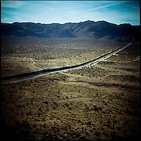 The Mexico border fence near Campo, California.