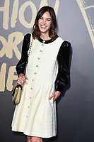 LONDON, UK. September 14, 2019: Alexa Chung at the Fashion for Relief Show 2019 at the British Museum, London.<br /> Picture: Steve Vas/Featureflash