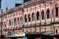 India, Dehradun.  Inamullah Building, an Architectural Example from the Colonial Era.