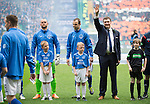 St Johnstone v Dundee United....17.05.14   William Hill Scottish Cup Final<br /> Manager Tommy Wright waves to the crowd as the teams line up prior to kick off<br /> Picture by Graeme Hart.<br /> Copyright Perthshire Picture Agency<br /> Tel: 01738 623350  Mobile: 07990 594431