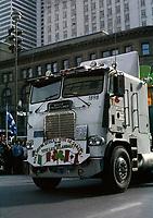 Defile de la Saint-Patrick<br /> , le 18 mars 1979<br /> <br /> PHOTO : Agence Quebec Presse