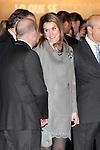 Princess Letizia of Spain  attend the inauguration of ARCO Contemporary Art Fair 2013 at Ifema. February 14, 2013. (ALTERPHOTOS/Caro Marin)