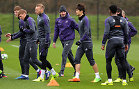 Manager of Swansea City, Paul Clement leads his players during the Swansea City Training at The Fairwood Training Ground, Swansea, Wales, UK. Tuesday 14 March 2017