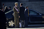 King Felipe VI of Spain and Pedro Sanchez attends to Pascua Militar at Royal Palace in Madrid, Spain. January 06, 2019. (ALTERPHOTOS/Pool)