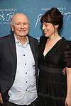"Terrence McNally and Arin Arbus during the Opening Night After Party for ""Frankie and Johnny in the Clair de Lune"" at the Brasserie 8 1/2 on May 29, 2019  in New York City."