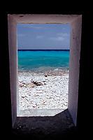 Slave huts White Slave, Netherland Antilles, Caribbean, Atlantic, Bonaire, Bonaire