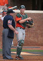 Jason Hagerty of the Miami Hurricanes vs. the Virginia Cavaliers: March 24th, 2007 at Davenport Field in Charlottesville, VA.  Photo by:  Mike Janes/Four Seam Images