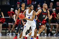 Washington, DC - March 10, 2020: Hofstra Pride guard Desure Buie (4) looks to pass the ball during the CAA championship game between Hofstra and Northeastern at  Entertainment and Sports Arena in Washington, DC.   (Photo by Elliott Brown/Media Images International)