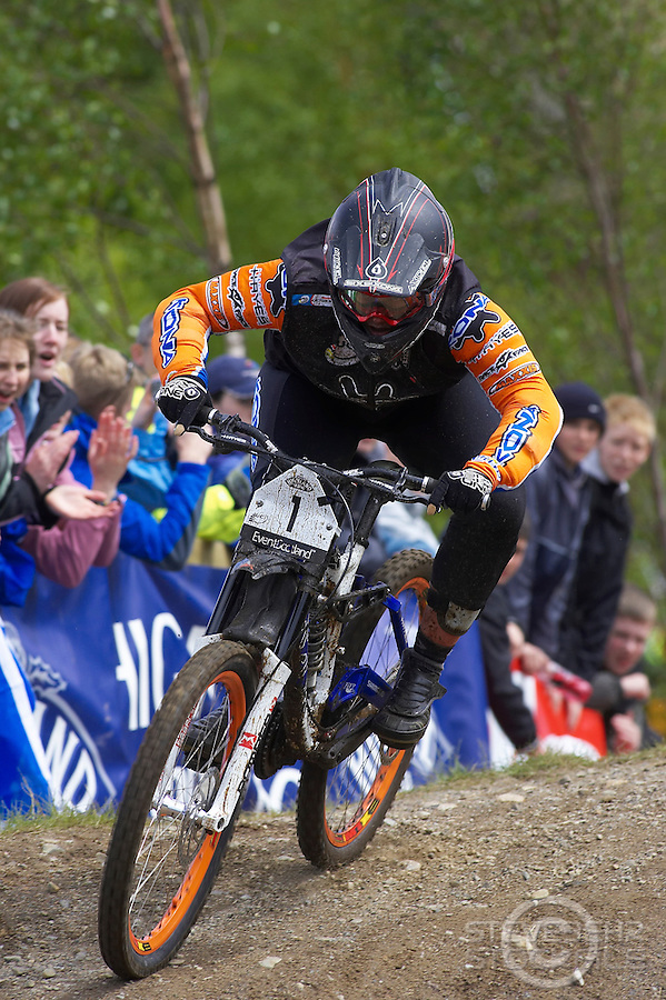 Tracy Moseley..Fort William World Cup , Scotland..May 2006..pic copyright Steve Behr / Stockfile ..