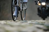 Paris-Roubaix 2013 RECON at Bois de Wallers-Arenberg..bouncing those cobbles