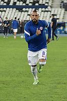 2nd July 2021; Nilton Santos Stadium, Rio de Janeiro, Brazil; Copa America, Brazil versus Chile; Arturo Vidal of Chile warms up before the match