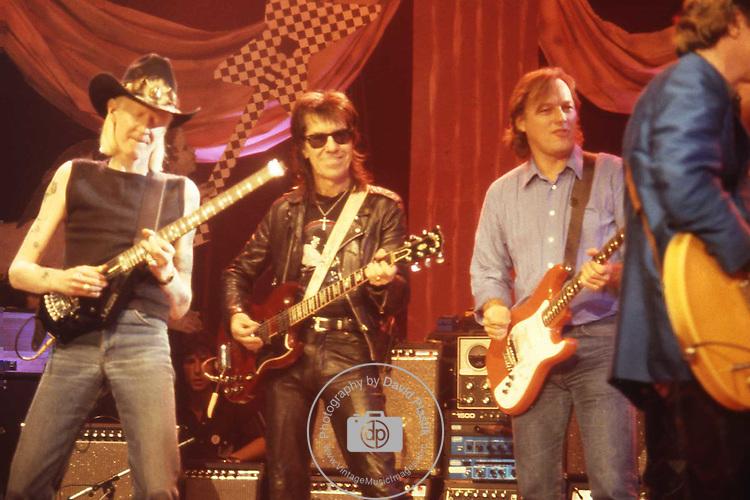 Johnny Winter, Link Wray, David Gilmour