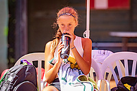 Hilversum, Netherlands, August 6, 2018, National Junior Championships, NJK, Florentine Dekkers (NED)<br /> Photo: Tennisimages/Henk Koster