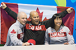 David Eng, Chantal Petitclerc, Rio 2016.<br />