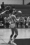 Bethel Park PA:  Steve Zemba 40 shooting a foul shot during a basketball game against the Mt Lebanon Blue Devils at Bethel Park Gymnasium. The JV Team was coached by Mr. Reno and the Bethel Park JVs won the Section Championship.  The team included; Scott Streiner, Steve Zemba, John Klein, Mike Stewart, Bruce Evanovich, Jeff Blosel, and Tim Sullivan.