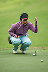 Saraporn Chamchoi of Thailand putts on the 12th green during Round 2 of the World Ladies Championship 2016 on 11 March 2016 at Mission Hills Olazabal Golf Course in Dongguan, China. Photo by Victor Fraile / Power Sport Images