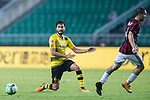 Borussia Dortmund Midfielder Nuri Sahin (L) in action during the International Champions Cup 2017 match between AC Milan vs Borussia Dortmund at University Town Sports Centre Stadium on July 18, 2017 in Guangzhou, China. Photo by Marcio Rodrigo Machado / Power Sport Images