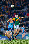 Seán O'Shea, Kerry in action against Brian Fenton, Dublin during the Allianz Football League Division 1 Round 1 match between Dublin and Kerry at Croke Park on Saturday.