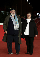 US director and photographer Bruce Weber and his wife Nan pose on the red carpet for the presentation of the movie 'Treasure of His Youth: The Photographs of Paolo Di Paolo' at the 16th annual Rome International Film Festival, in Rome, Italy, 23 October 2021. <br /> UPDATE IMAGES PRESS/Isabella Bonotto
