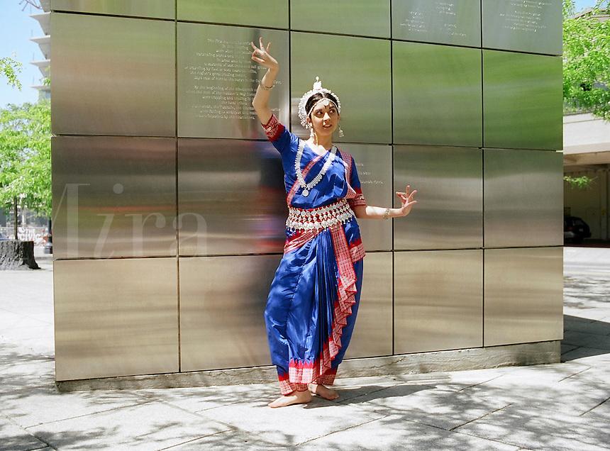 East Indian Orissi dancer..MR