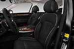 Front seat view of a 2019 Genesis G90 Ultimate 4 Door Sedan front seat car photos
